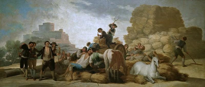 Goya y Lucientes, Francisco de -- La era, o El Verano. Part 2 Prado Museum