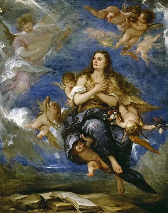 Antolínez, José -- El tránsito de la Magdalena. Part 2 Prado Museum