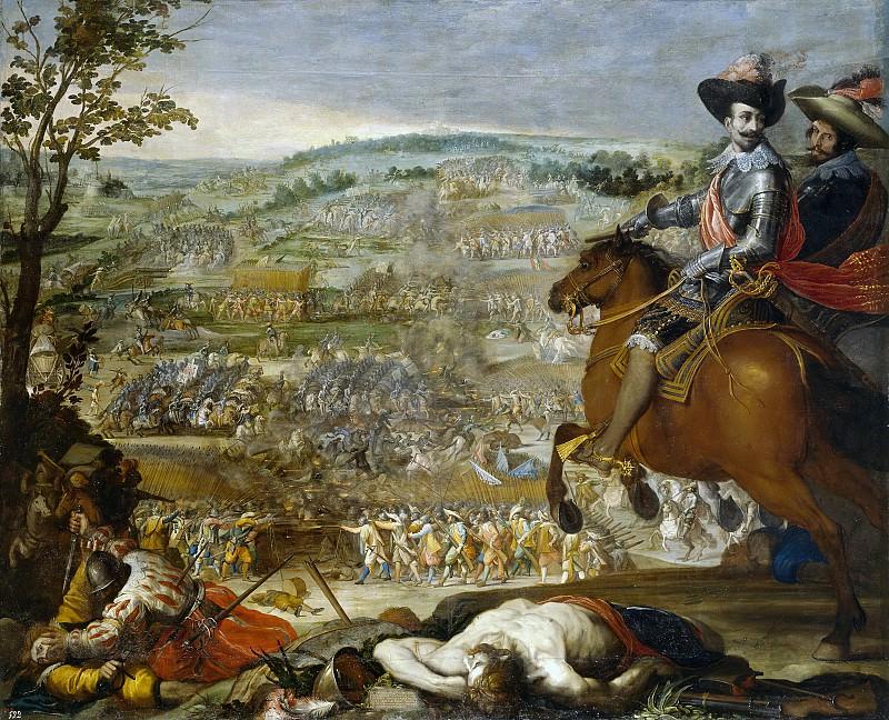 Carducho, Vicente -- Victoria de Fleurus. Part 2 Prado Museum