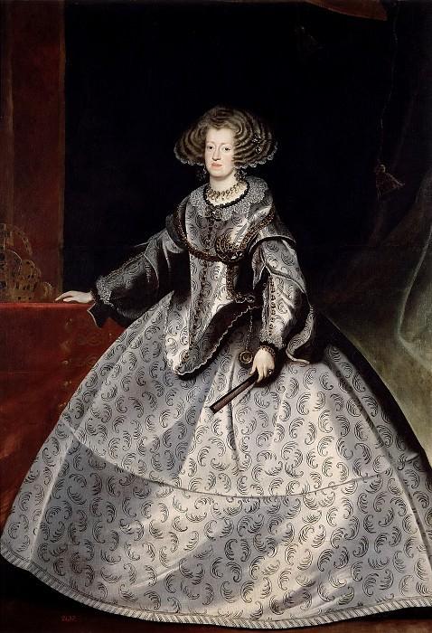 Luycks, Frans -- María de Austria, reina de Hungría. Part 2 Prado Museum