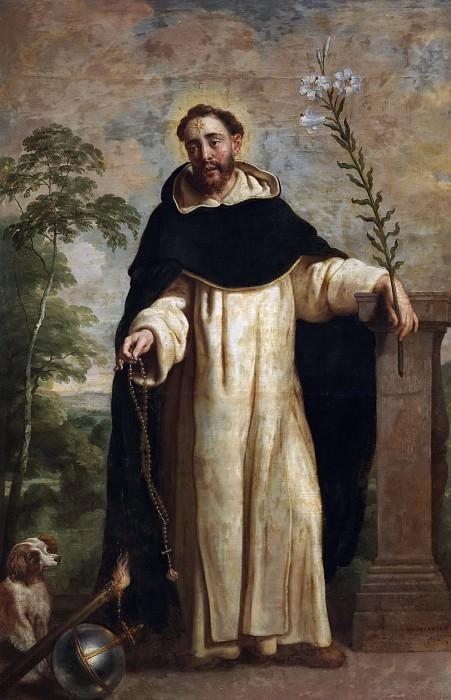 Crayer, Gaspar de -- Santo Domingo de Guzmán. Part 2 Prado Museum