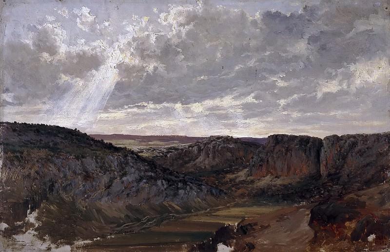 Haes, Carlos de -- Montañas (Aragón). Part 2 Prado Museum