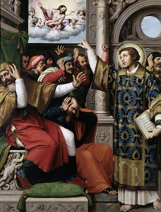 Juanes, Juan de -- San Esteban acusado de blasfemo. Part 2 Prado Museum
