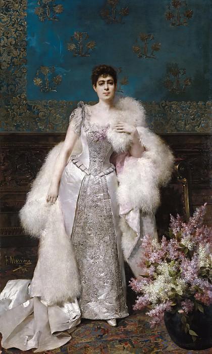 Masriera Manovens, Francisco -- Francisca Aparicio y Mérida, marquesa de Vistabella. Part 2 Prado Museum