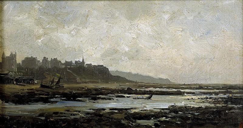 Haes, Carlos de -- Playa de Villerville (Normandía). Part 2 Prado Museum