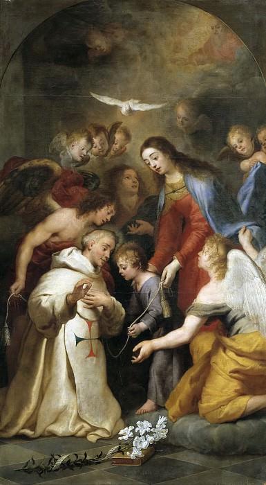 Крайер, Каспар де -- Явление Богородицы Симону из Рохаса. Часть 2 Музей Прадо