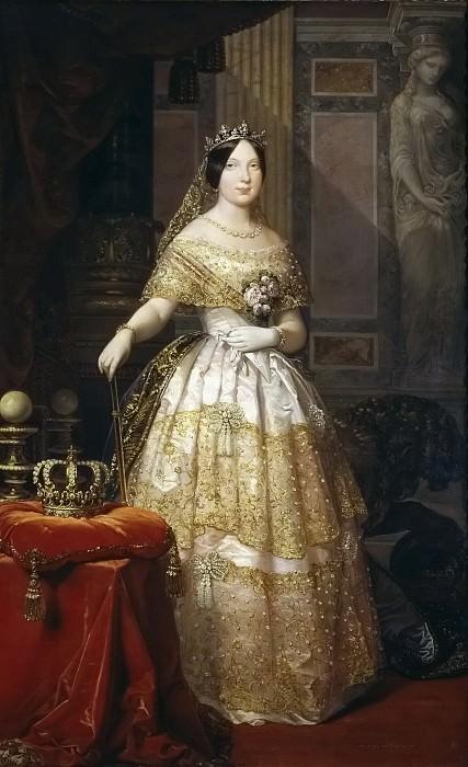 Madrazo y Kuntz, Federico de -- Isabel II, reina de España. Part 2 Prado Museum