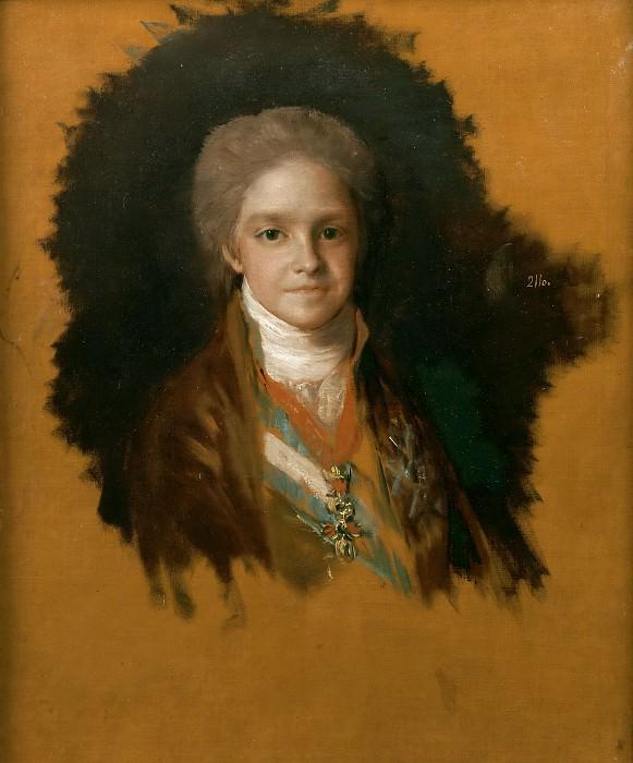 Goya y Lucientes, Francisco de -- Carlos María Isidro de Borbón y Borbón-Parma, infante de España. Part 2 Prado Museum