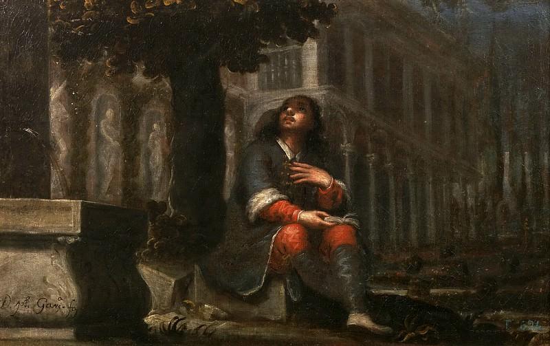 García Hidalgo, José -- Conversión de San Agustín. Part 2 Prado Museum