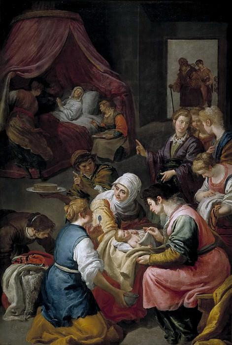Leonardo, Jusepe -- El Nacimiento de la Virgen. Part 2 Prado Museum