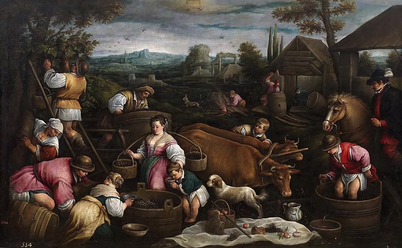 Бассано, Франческо -- Сентябрь (Весы). Часть 2 Музей Прадо