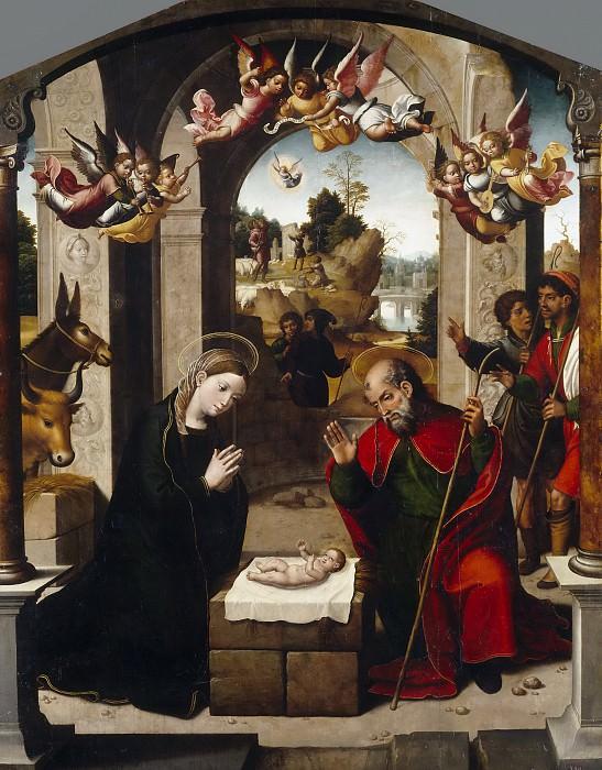 Correa de Vivar, Juan -- La Natividad. Part 2 Prado Museum