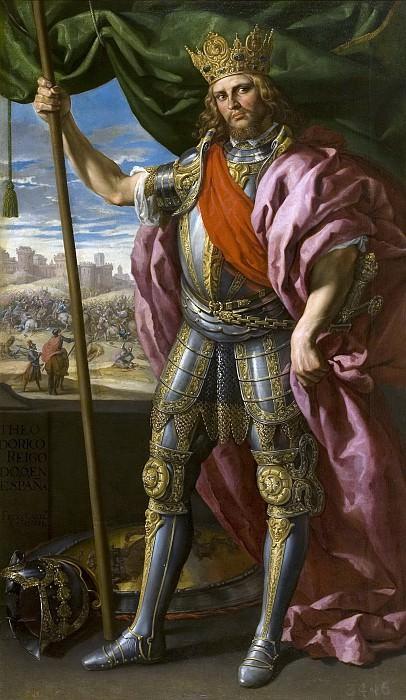 Castello, Félix -- Teodorico, rey godo. Part 2 Prado Museum