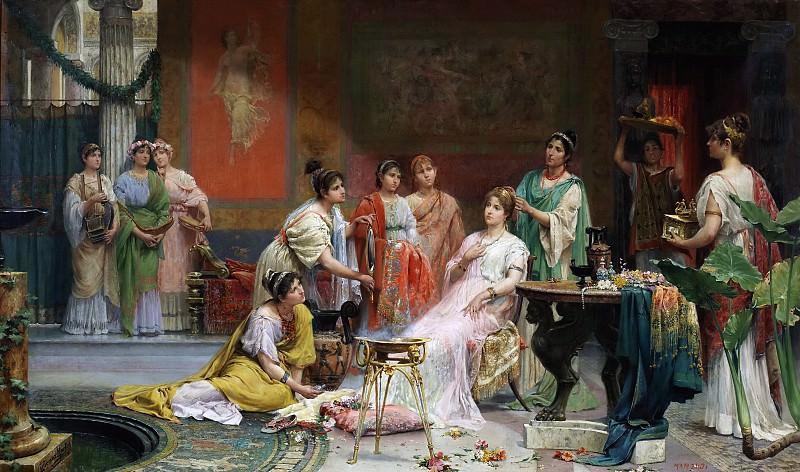 Хименес Мартин, Хуан -- Туалет римской дамы. Часть 2 Музей Прадо