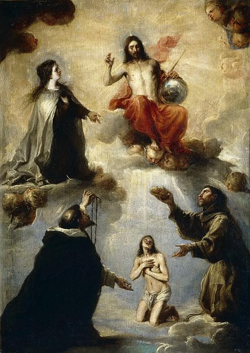 Cerezo, Mateo -- El juicio de un alma. Part 2 Prado Museum