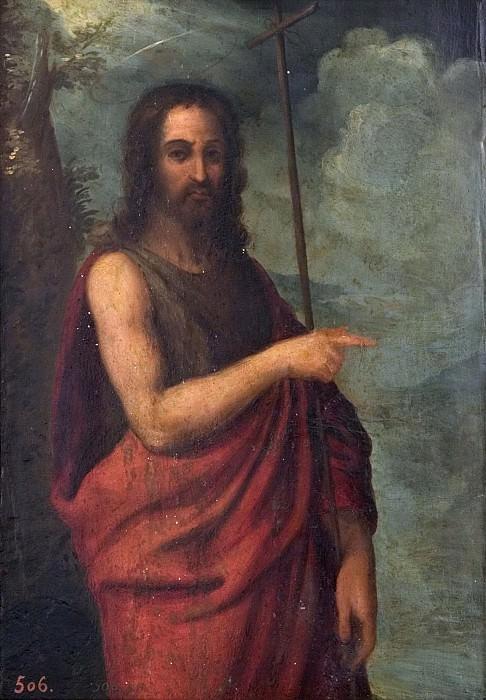 Anónimo -- San Juan Bautista. Part 2 Prado Museum