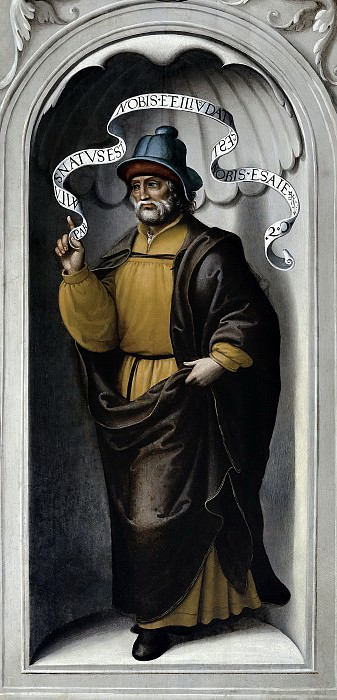 Корреа де Вивар, Хуан -- Пророк Исаия. Часть 2 Музей Прадо