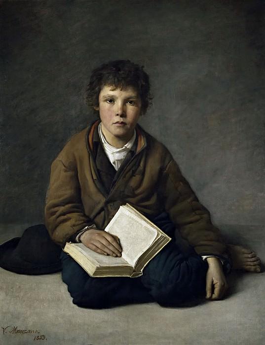 Manzano y Mejorada, Víctor -- Un chiquillo sentado. Part 2 Prado Museum