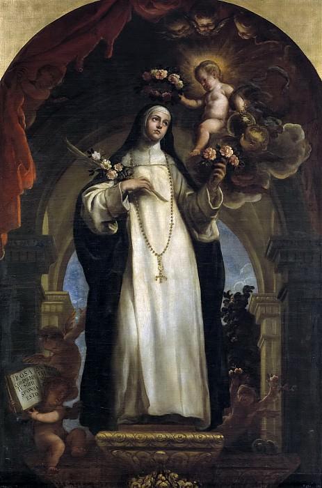 Coello, Claudio -- Santa Rosa de Lima. Part 2 Prado Museum
