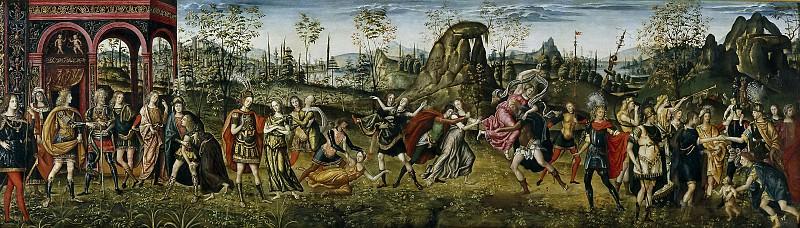 Aspertini, Amico; Aspertini, Guido -- El rapto de las sabinas. Part 2 Prado Museum