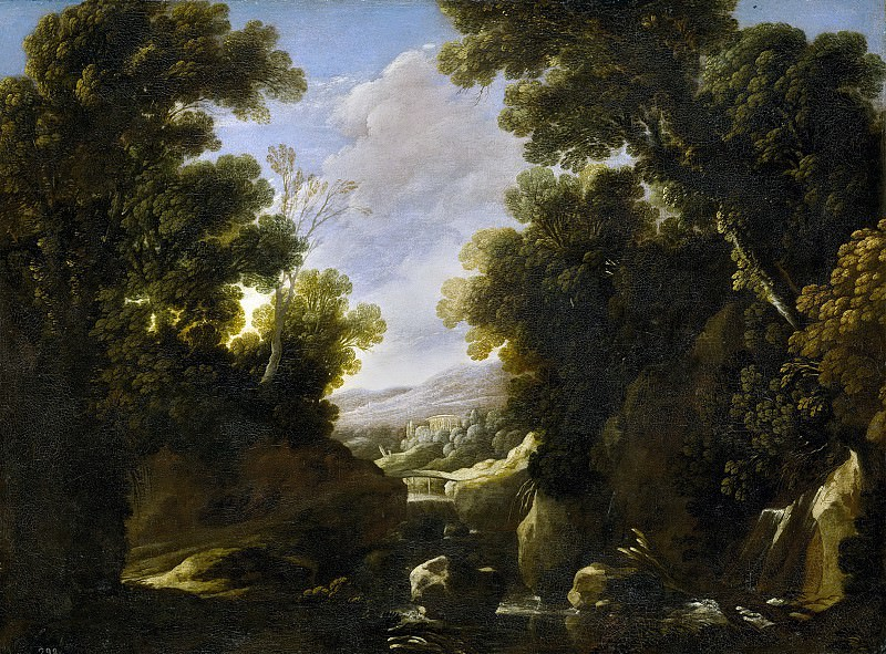 Collantes, Francisco -- Paisaje frondoso. Part 2 Prado Museum