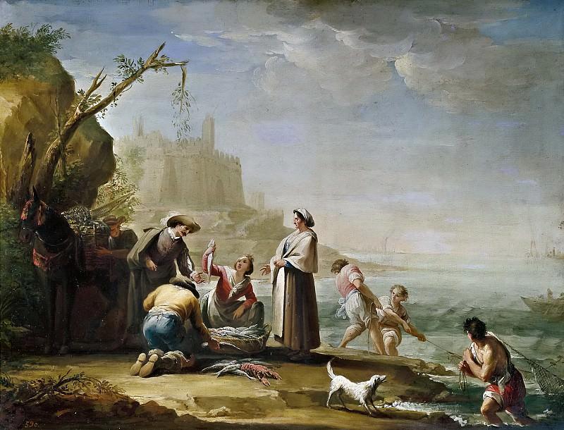 Maella, Mariano Salvador -- Pescadores. Part 2 Prado Museum