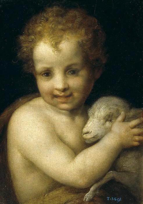 Sarto, Andrea del -- San Juan Bautista con el Cordero. Part 2 Prado Museum