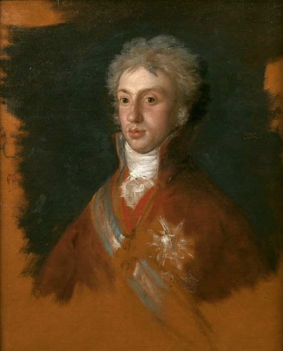 Goya y Lucientes, Francisco de -- Luis de Borbón, príncipe de Parma y rey de Etruria. Part 2 Prado Museum