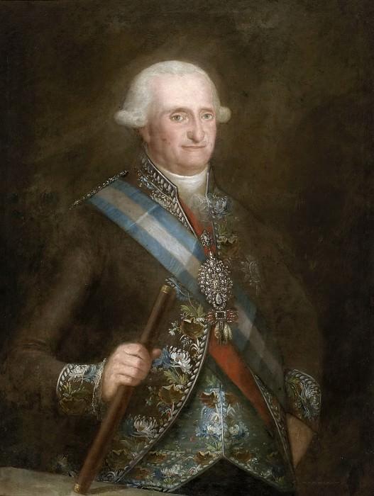 Anónimo (Copia Goya y Lucientes, Francisco de) -- Carlos IV, rey de España. Part 2 Prado Museum