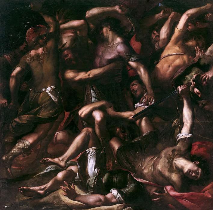 Procaccini, Giulio Cesare -- Sansón y los filisteos. Part 2 Prado Museum