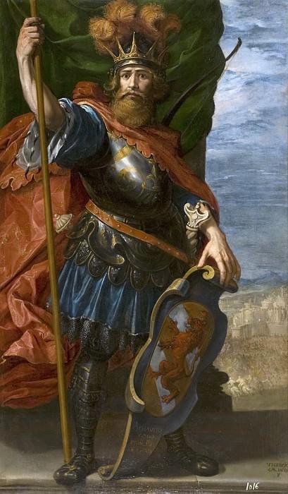 Carducho, Vicente -- Ataúlfo, rey godo. Part 2 Prado Museum