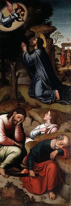 Correa de Vivar, Juan -- La Oración en el Huerto. Part 2 Prado Museum