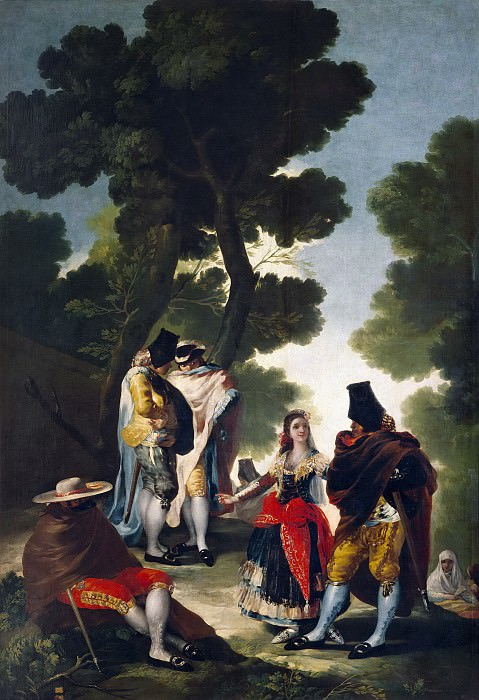 Гойя и Лусиентес, Франсиско де -- Прогулка в Андалусии. Часть 2 Музей Прадо
