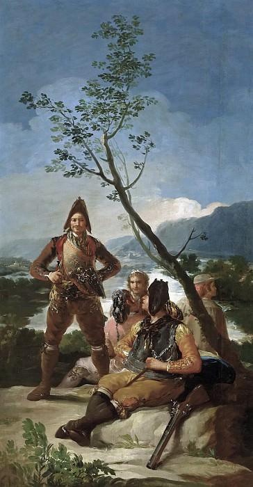 Гойя и Лусиентес, Франсиско де -- Табачный патруль. Часть 2 Музей Прадо