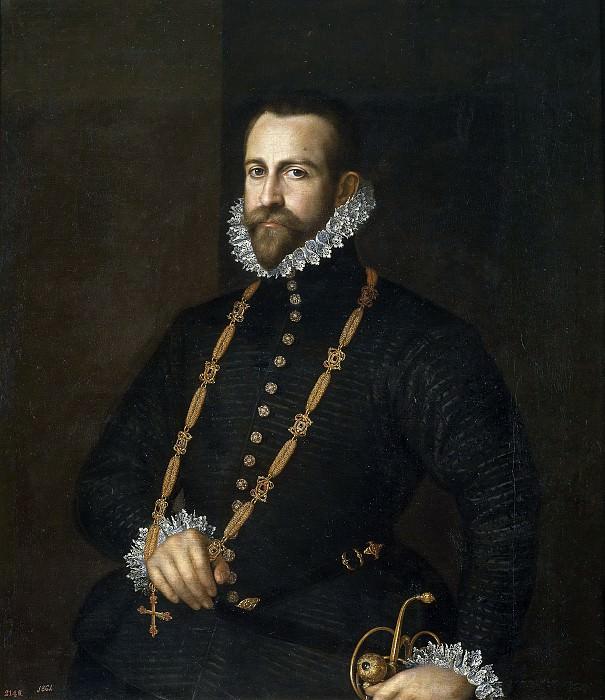 Anónimo -- Retrato de caballero de la Orden de Calatrava. Part 2 Prado Museum