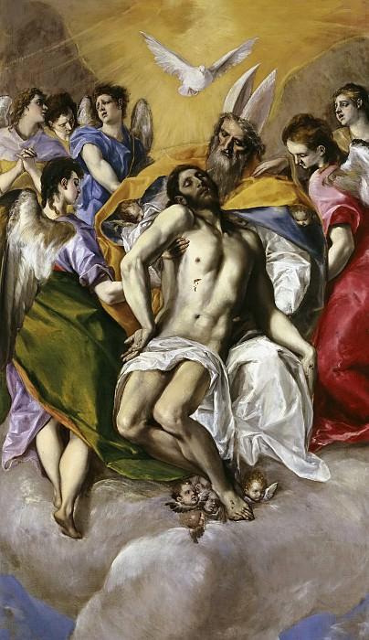 El Greco -- La Trinidad. Part 2 Prado Museum