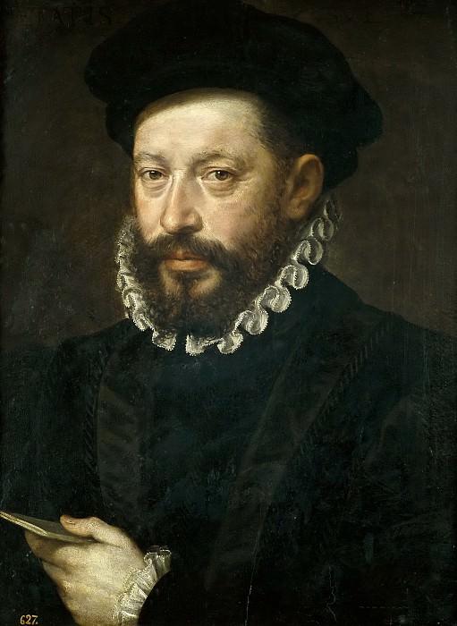 Anónimo -- Retrato de hombre de 54 años. Part 2 Prado Museum