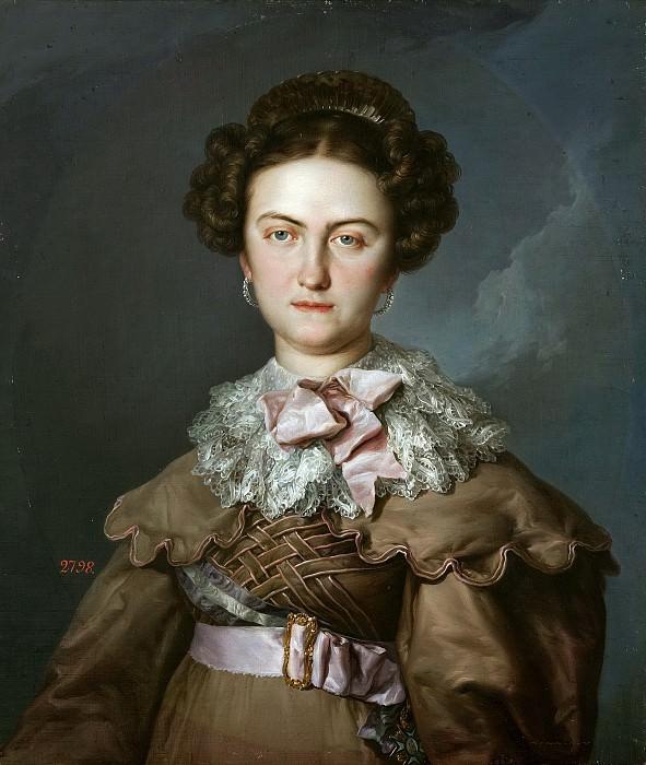 López Portaña, Vicente -- María Josefa Amalia de Sajonia, reina de España. Part 2 Prado Museum