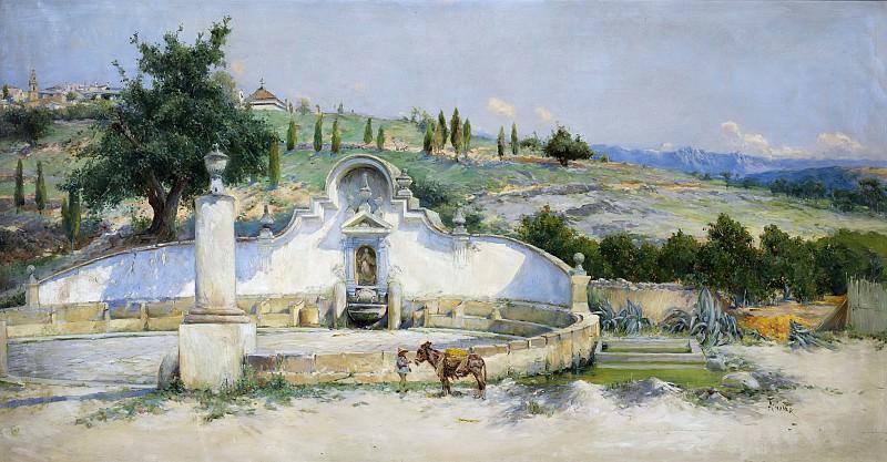 Gomar y Gomar, Antonio -- La Fuente de San Pascual. Part 2 Prado Museum