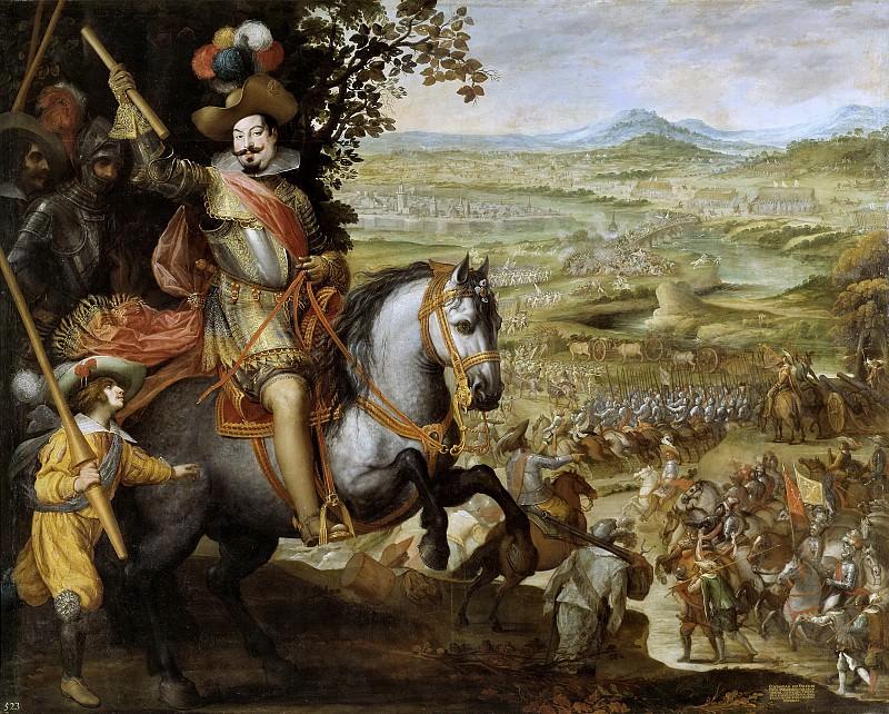 Carducho, Vicente -- Socorro de la plaza de Constanza. Part 2 Prado Museum