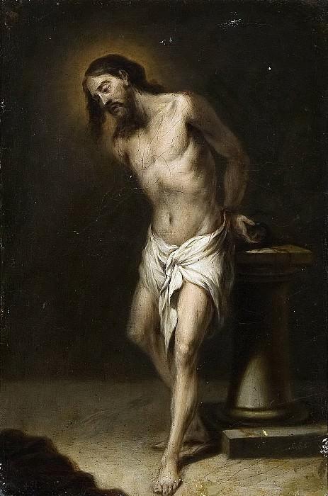 Anónimo (Discípulo de Cano, Alonso) -- Cristo atado a la Columna. Part 2 Prado Museum