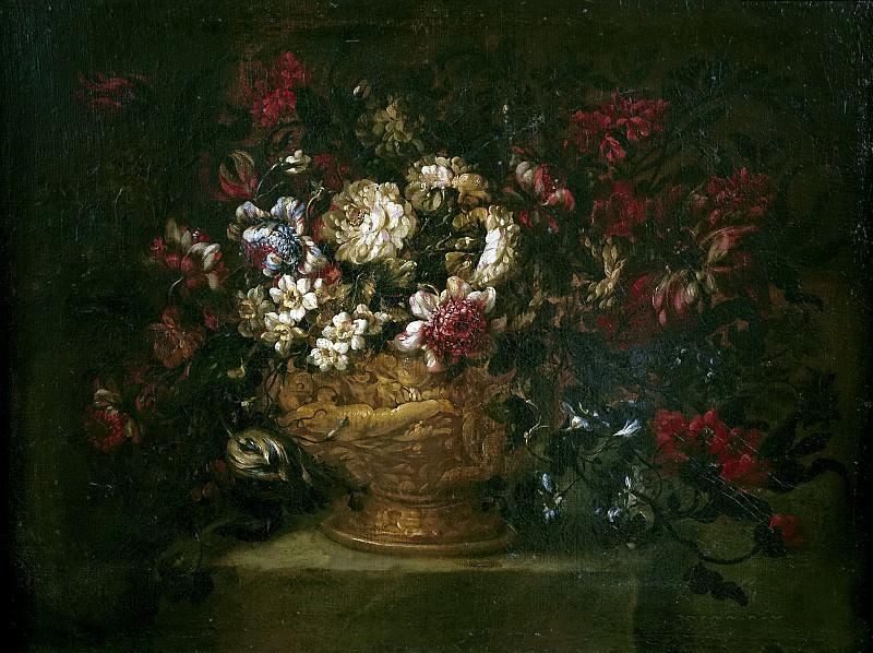 Corte, Gabriel de la (Atribuido a) -- Florero. Part 2 Prado Museum
