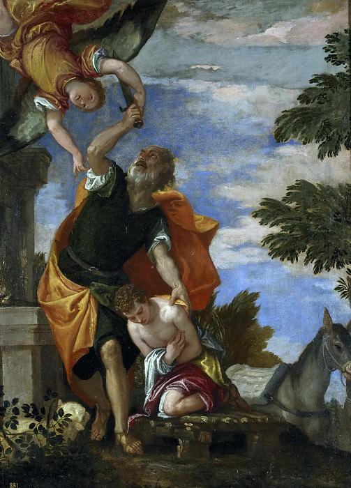 Веронезе -- Жертвоприношение Исаака. Часть 2 Музей Прадо