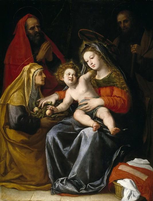 Carducho, Vicente -- La Sagrada Familia. Part 2 Prado Museum