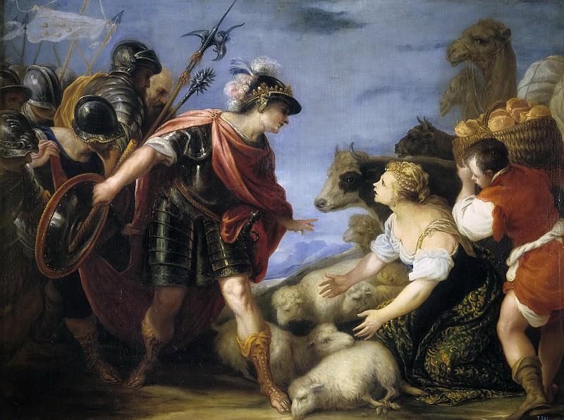 Escalante, Juan Antonio de Frías y -- La prudente Abigail. Part 2 Prado Museum