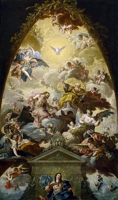 Bayeu y Subías, Francisco -- La Asunción de la Virgen. Part 2 Prado Museum