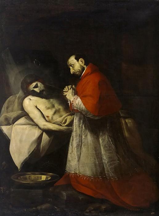 Cerano -- San Carlos Borromeo ante Cristo muerto. Part 2 Prado Museum