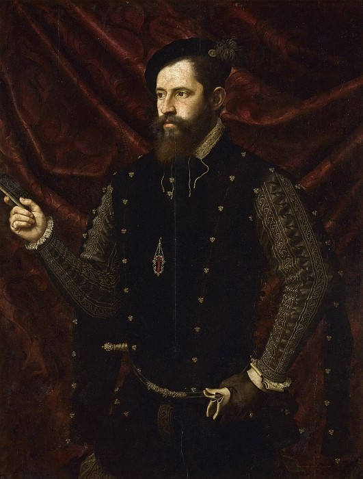 Juanes, Juan de -- Retrato de un caballero santiaguista. Part 2 Prado Museum