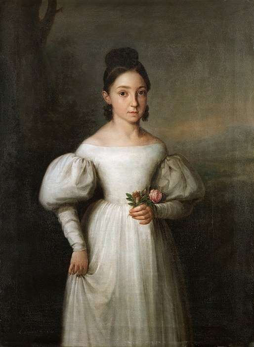 Esquivel y Suárez de Urbina, Antonio María -- La infanta María Luisa Teresa de Borbón, duquesa de Sessa. Part 2 Prado Museum