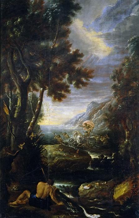 Ezquerra, Jerónimo Antonio de -- Alegoría del Agua. Part 2 Prado Museum
